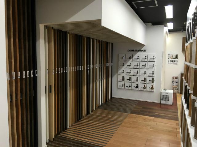 店舗~リニューアル工事~永大産業立川ショールーム